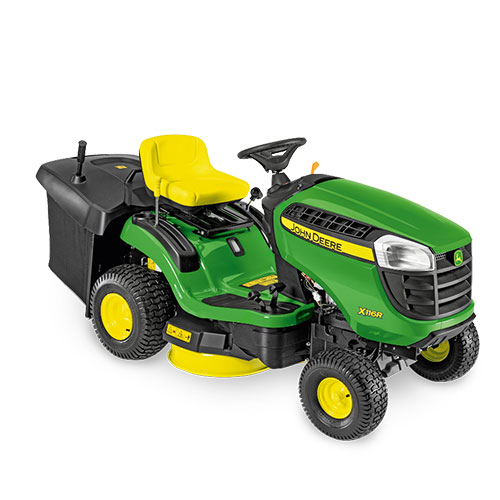 john deere aufsitzrasenm her x 116 r rinckhoff. Black Bedroom Furniture Sets. Home Design Ideas